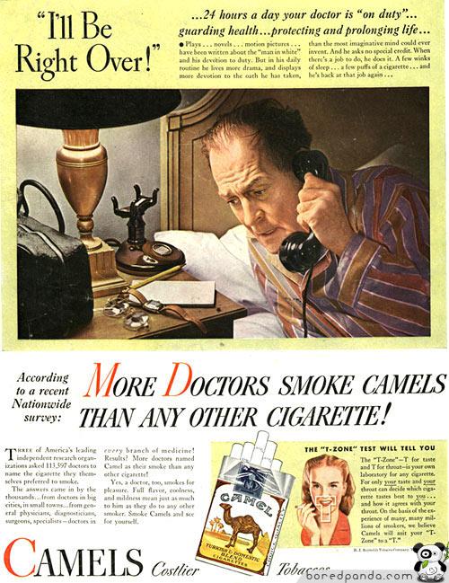 More Doctors Smoke Camels #2