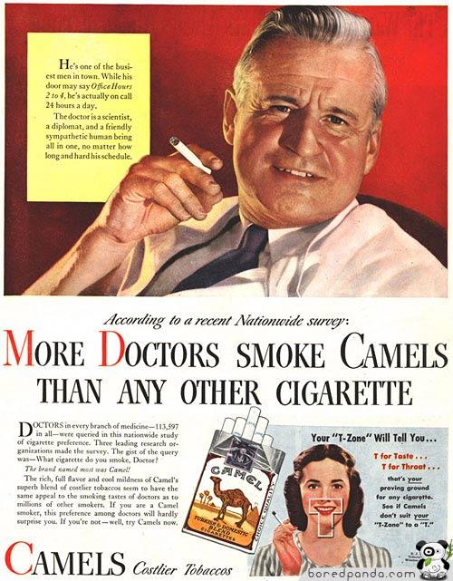 More Doctors Smoke Camels #1