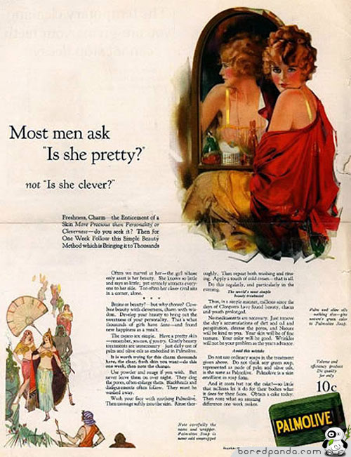 """Men Ask """"Is She Pretty?"""" Not """"Is She Clever?"""""""