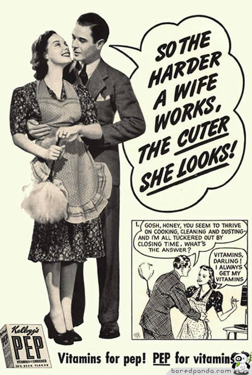 The Harder A Wife Works, The Cuter She Looks!