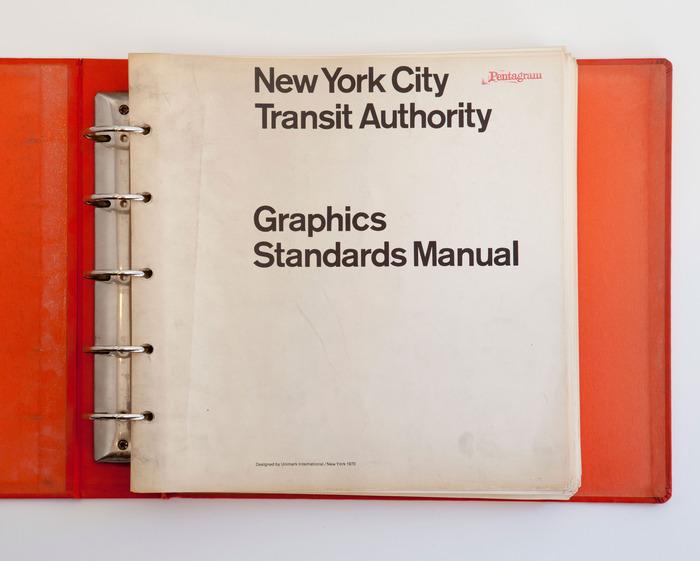 Manuale grafico Metropolitana New York