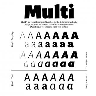 Font Multi