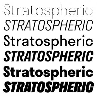 Font Stratos