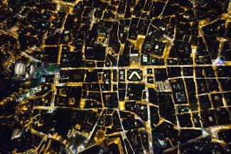 Roma, 2015. Le geometrie del potere: Vittoriano, Palazzo Chigi, Montecitorio, un dedalo di interessi © Massimo Sestini